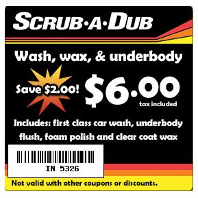 Scrub a Dub Coupon & Deal